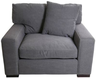 Max Home Outback Gray Chair & 1/2