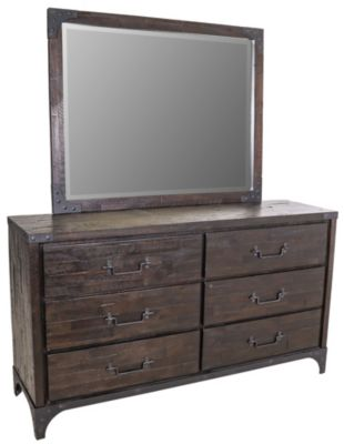 Modus Furniture Buxton Dresser with Mirror