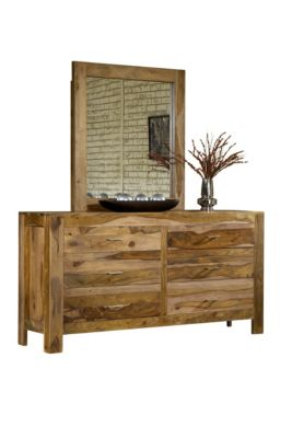 Modus Furniture Atria Dresser with Mirror