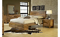 Modus Furniture Atria 4-Piece Queen Panel Bedroom Set