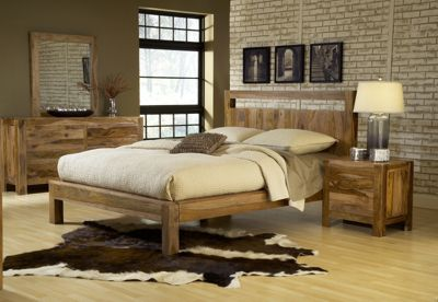 Modus Furniture Atria 4-Piece Queen Platform Bedroom Set