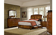Modus Furniture Brighton 4-Piece Queen Storage Bedroom Set