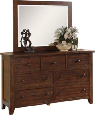 Modus Furniture Cally Dresser with Mirror