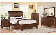 Modus Furniture Cally 4-Piece Queen Bedroom Set