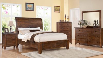 Modus Furniture Cally 4-Piece King Bedroom Set