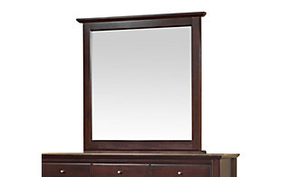Modus Furniture City II Cocoa Mirror