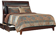 Modus Furniture City II Cocoa Queen Storage Bed