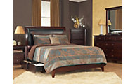 Modus Furniture City II Cocoa 4-Piece Queen Storage Bedroom Set