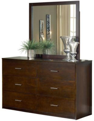 Modus Furniture Modera Dresser with Mirror