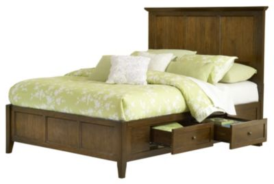 Modus Furniture Paragon Full Storage Bed