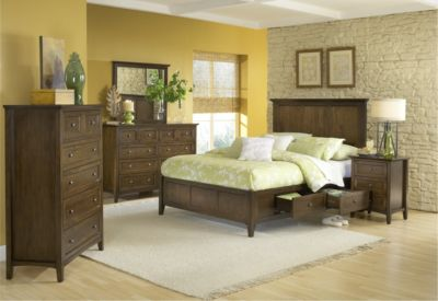 Modus Furniture Paragon 4-Piece King Storage Bedroom Set