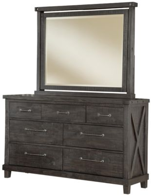 Modus Furniture Yosetime Dresser with Mirror
