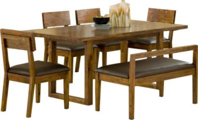 Modus Furniture Alba 6-Piece Dining Set