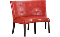 Modus Furniture Bossa Red Banquette