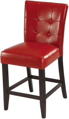 Modus Furniture Bossa Red Counter Stool