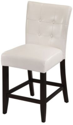 Modus Furniture Bossa White Counter Stool