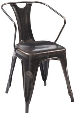 Modus Furniture Nixon Metal Side Chair