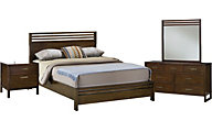 Modus Furniture Uptown 4-Piece Queen Bedroom Set