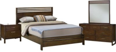 Modus Furniture Uptown 4-Piece King Bedroom Set