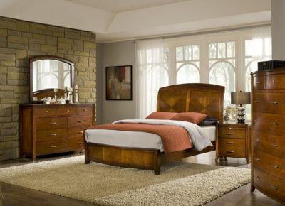 Modus Furniture Brighton 4-Piece Queen Bedroom Set