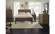 Modus Furniture Delfina 4-Piece Queen Bedroom Set