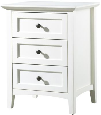 Modus Furniture Paragon White Nightstand