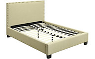 Modus Furniture Geneva Tavel California King Upholstered Bed