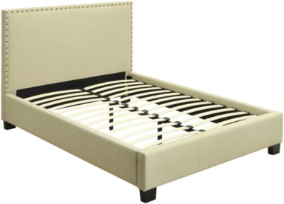 Modus Furniture Geneva Tavel King Upholstered Bed