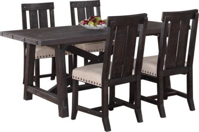 Modus Furniture Yosemite Rect. Table & 4 Side Chairs
