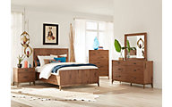 Modus Furniture Adler 4-Piece Queen Bedroom Set