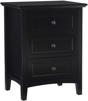 Modus Furniture Paragon Black Nightstand