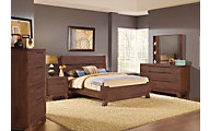 Modus Furniture Portland 4-Piece Queen Bedroom Set