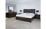 Najarian Studio 4-Piece King Storage Bedroom Set