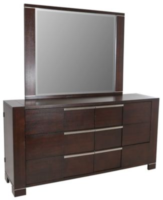 Najarian Studio Dresser with Mirror