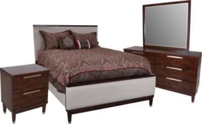 Najarian Rodeo 4-Piece Queen Bedroom Set
