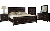 Najarian Sonoma 5-Piece King Storage Bedroom Set