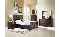 Najarian Key West 4-Piece King Storage Bedroom Set