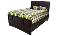 Najarian Key West King Storage Bed