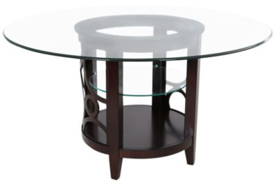 Najarian Planet Glass Table