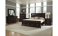 Najarian Sonoma 4-Piece Queen Storage Bedroom Set