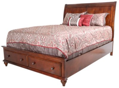 New Classic Spring Creek Queen Storage Bed