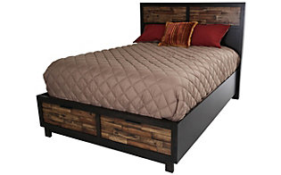 New Classic Makeeda King Storage Bed