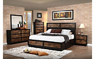 New Classic Makeeda 4-Piece Queen Storage Bedroom Set