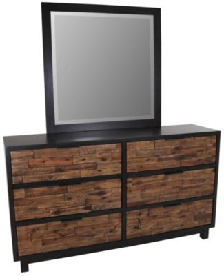 New Classic Makeeda Dresser with Mirror