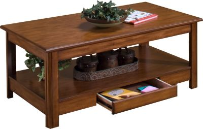 New Classic Crestline Lift-Top Coffee Table
