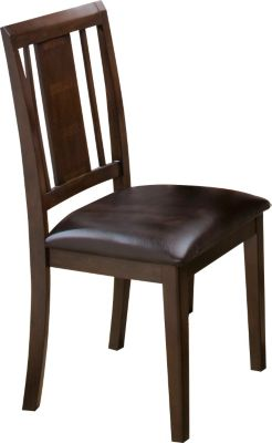 New Classic Latitudes Chestnut Side Chair