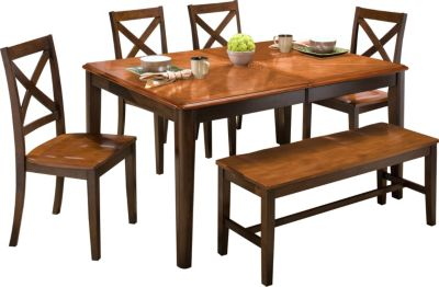 New Classic Latitudes Two-Tone 6-Piece Dining Set