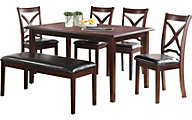 New Classic Milo 6-Piece Dining Set
