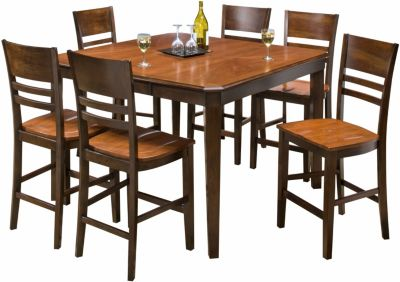 New Classic Latitudes Two-Tone 7-Piece Counter Set