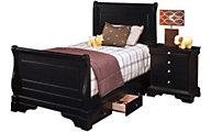 New Classic Belle Rose Full Storage Bed